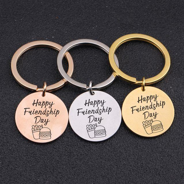 Happy Friendship Day Gift Keychain Friendship Souvenir Graduation Best Friend Pendant Choose Boy Girls Charm Key Chains Key Chain From Puddingstation 20 91 Dhgate Com