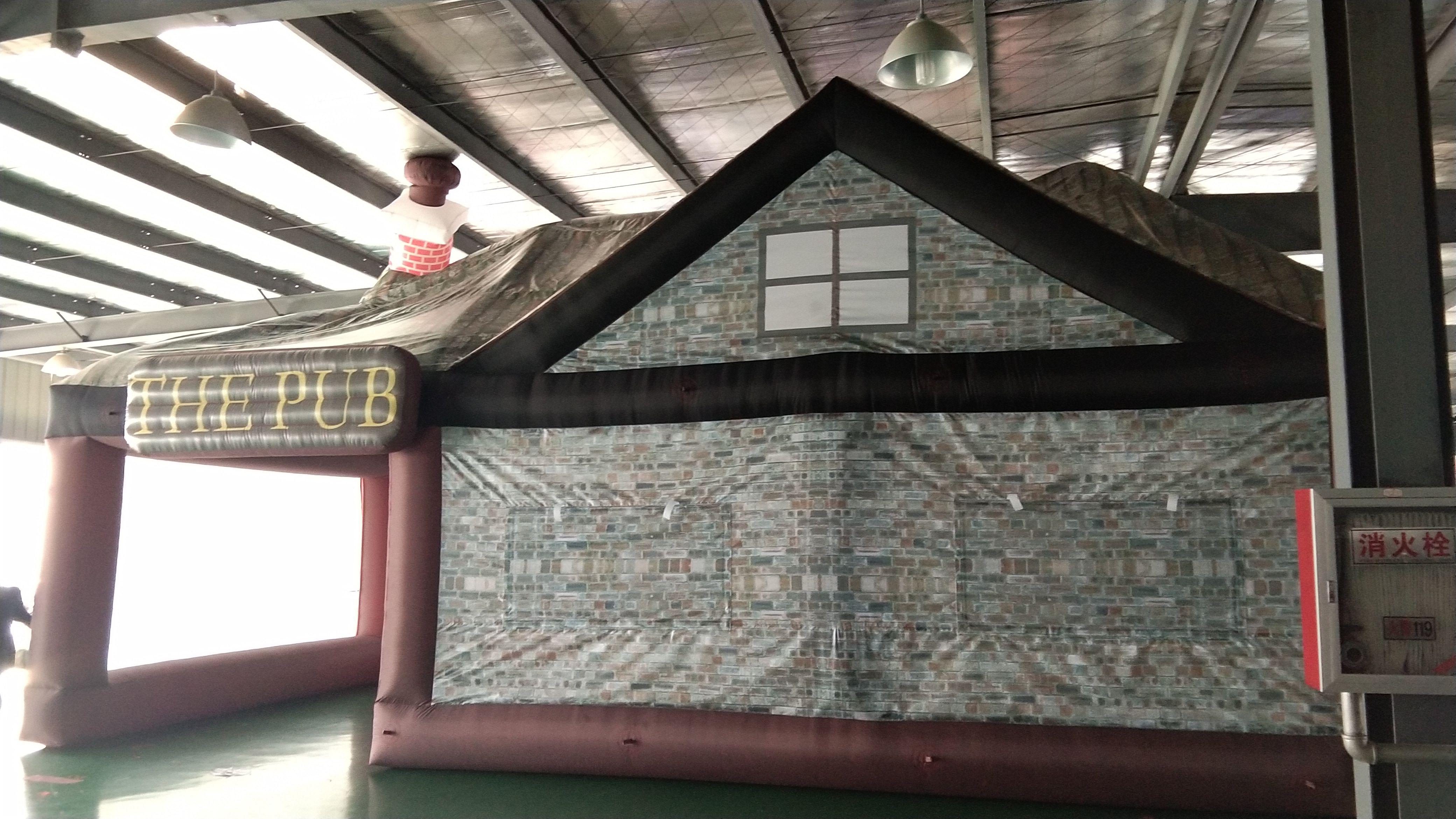 Открытый Надувная палатка Ирландский паб Оксфорд Материал Открытый Надувная палатка с Воздуходувка