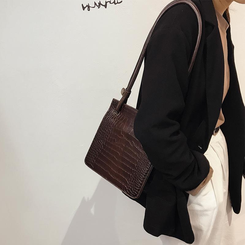 Sencillo estilo de las mujeres del bolso de hombro de la PU de las señoras del bolso de la vendimia de la personalidad señoras del partido Cruz Body Bags