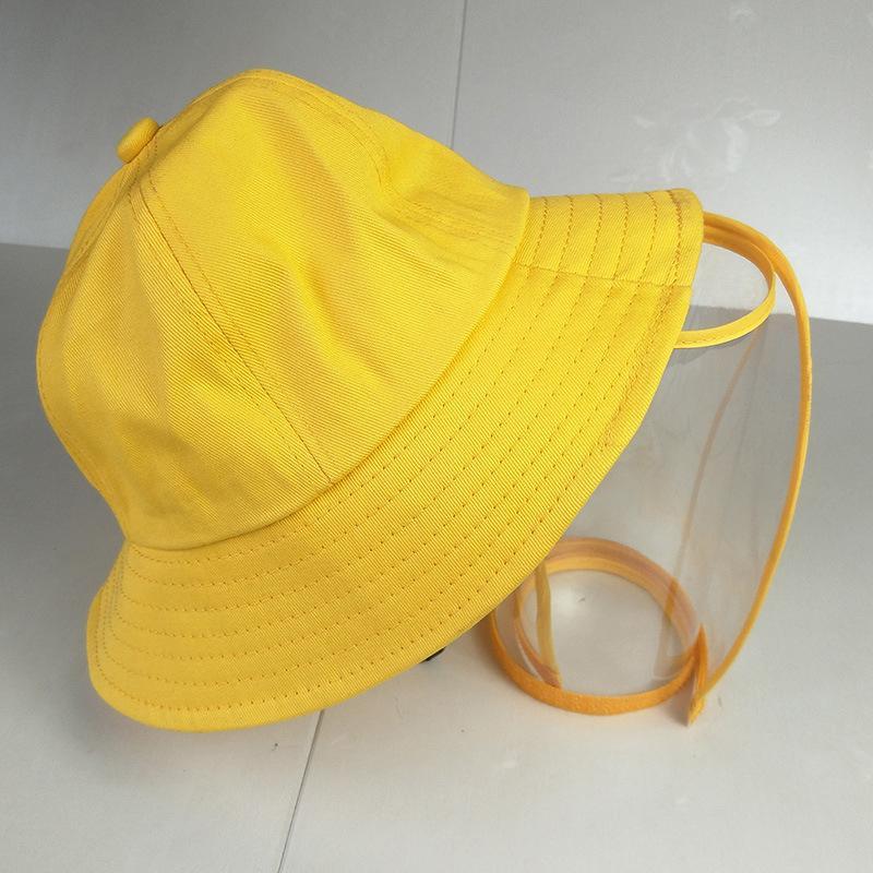 Дети анти-плевок защитная шляпа крышка открытый Рыбак шляпа регулируемый размер плевок защитная крышка женщины лето Рыбак шляпа