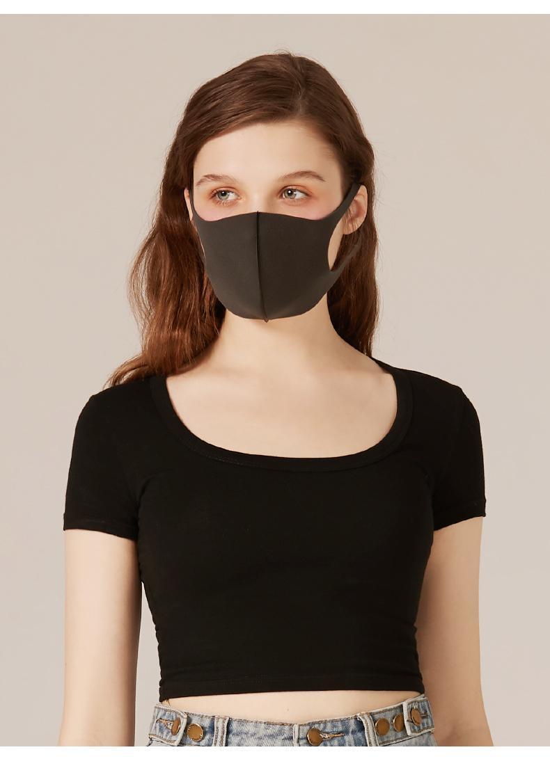 Máscara Resuable Máscaras adultos enfrentar Boca máscaras de algodão de proteção nariz lavável máscaras de moda Anti-poeira à prova de poeira entrega rápida
