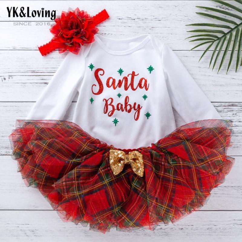 Bébés filles Vêtements Sets Marque Kid Fille 1er Bithday Party costumes pour filles Vêtements Set Outfit nourrissons Coton Romper + Bandeau
