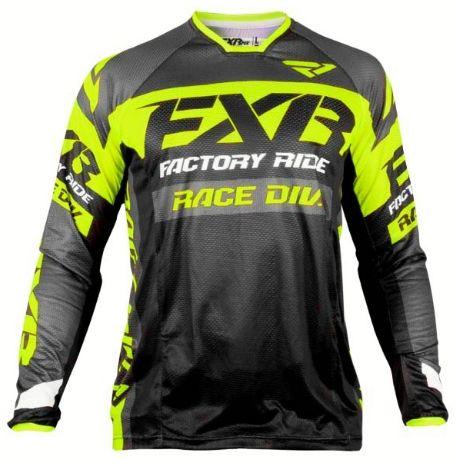 DH Motocross MX FXR с длинным рукавом MTB Jersey Bross-Counte Motherycle Riding Undhill Джерси МТБ Джерси Мотокросс