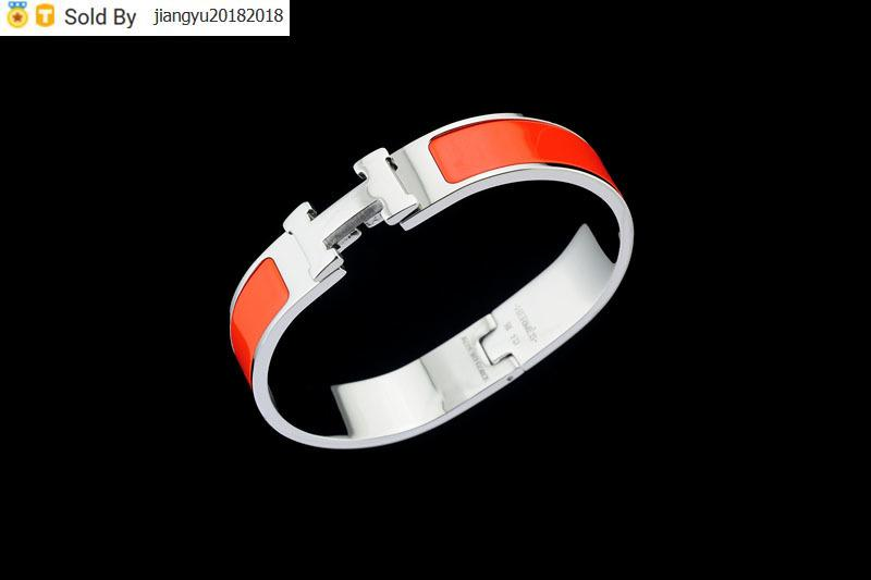 Christmas Gift High Quality Metal Buckle bracelet Metal Clover Cuff Bracelets Silver Jewelry With Box