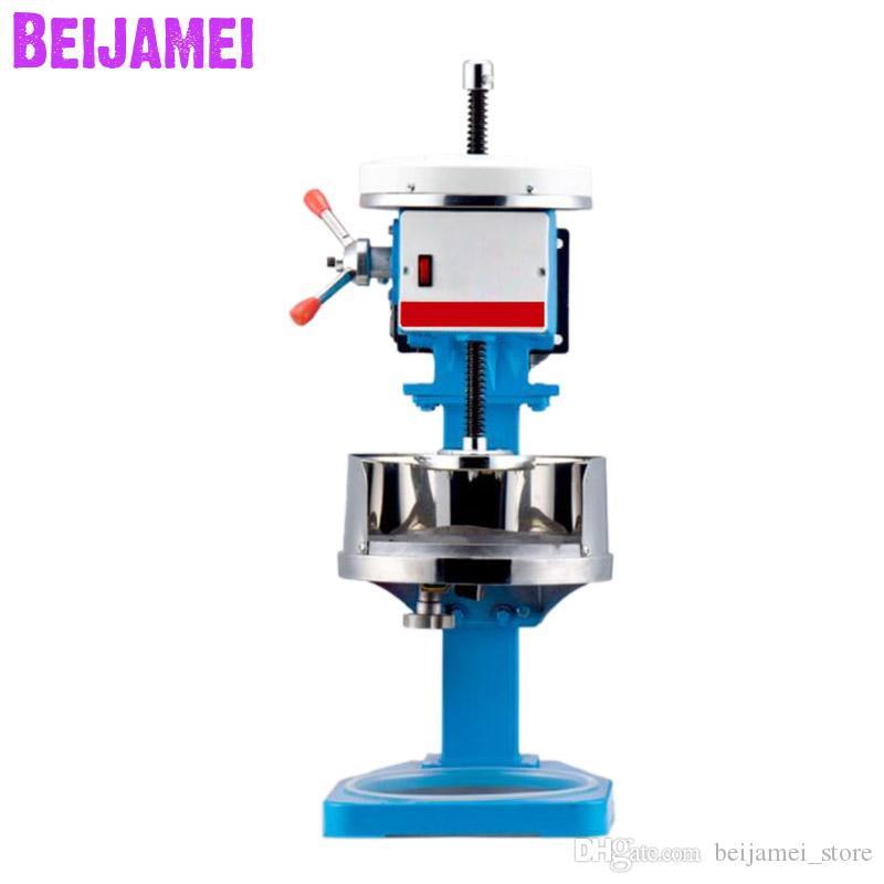 Beijamei Electric Block Glaver de glace / Concasseur à glace ménagère / machine à glace de neige commerciale pour la boutique de thé au lait
