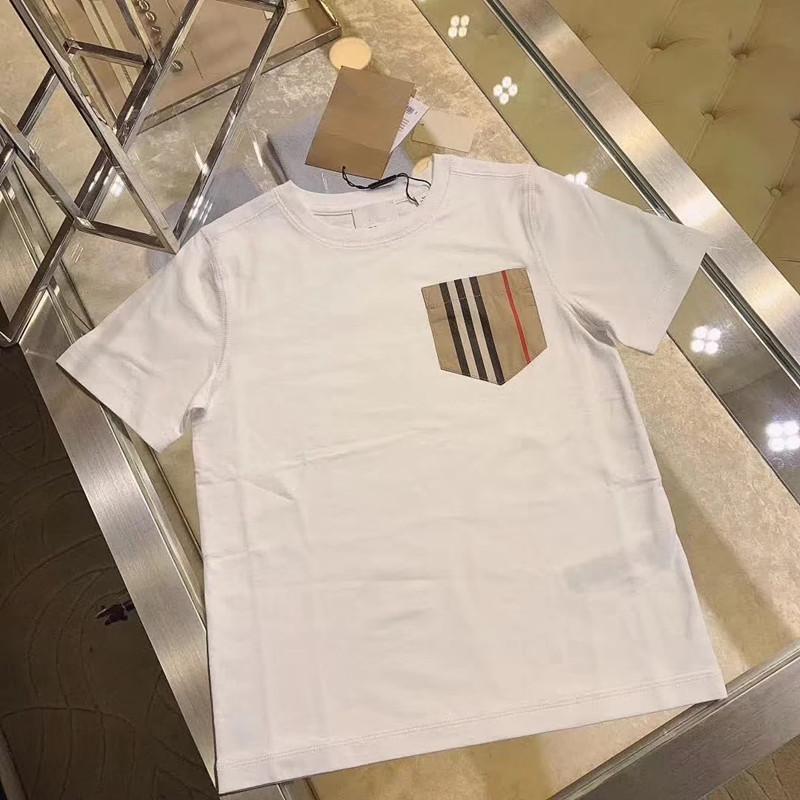 moda 2020 do bebê meninas verão t camisas dos miúdos meninos de algodão para as camisas T quentes de verão