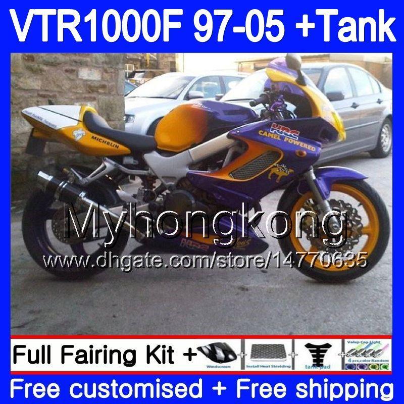 97-05 Honda VTR 1000 F Superhawk Radiator Screen Guard Cover