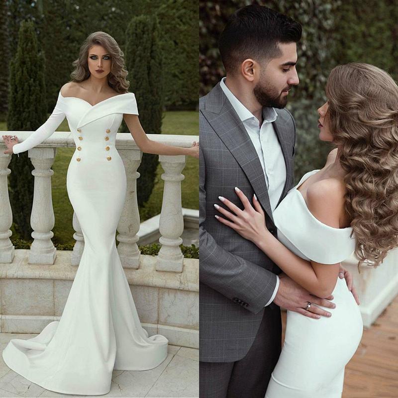 Yüksek Yaka Şık Gelinlik ile Ruffles Bow Saten Gelinlik Custom Made Moda Kısa Gelinlik Robe De mariée Cepler