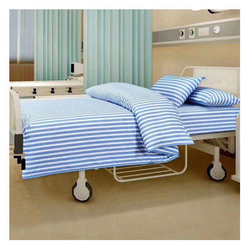 Quilt-Deckblätter + 1Pcs Kissenbezüge Decor für hosipital Textile Bettwäsche Coverlet Flach Streifen Bettdecke Bettwäsche