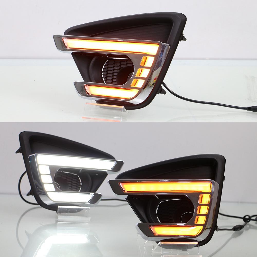 1 Satz Blinker Stil für Mazda CX5 CX5 cx 5 2012 2013 2014 2015 2016 Relay 12V führte Auto drl Lichter mit Nebellampenloch läuft