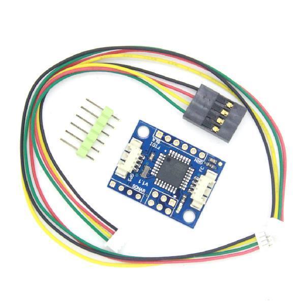 Freeshipping 10pcs/lot CRIUS MultiWii MWC I2C-GPS NAV Navigation Adapter Plate Navigation Module GPS board
