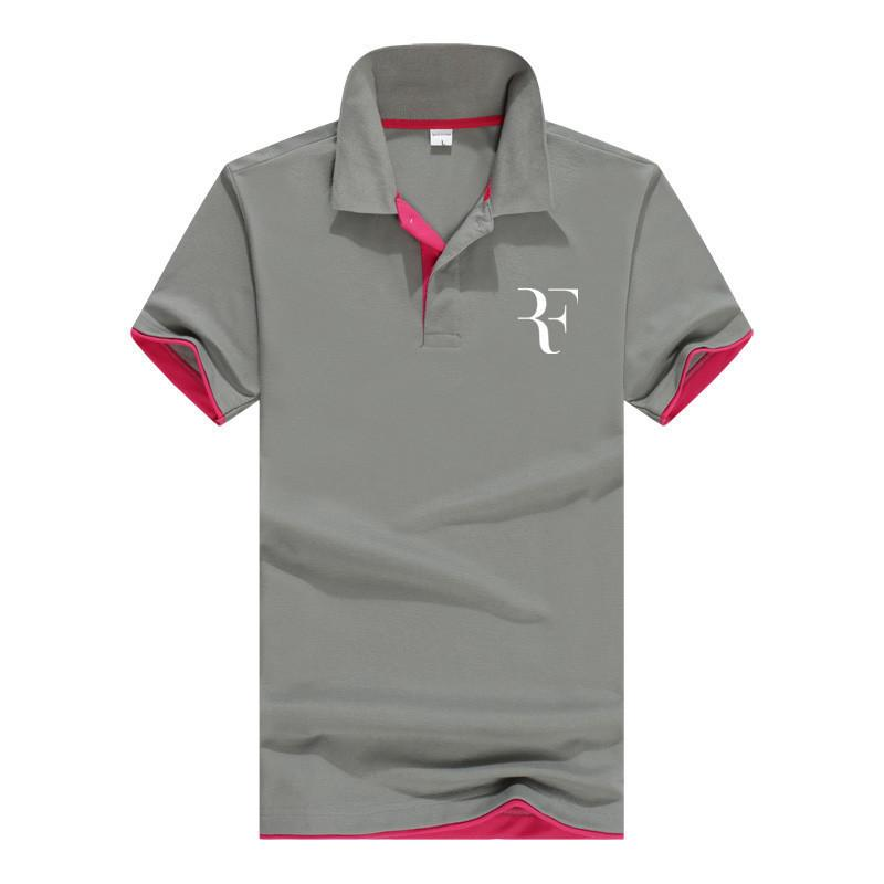 Summer Fashion Roger Federer Perfect Logo Printed Polo Rf New Men High Quality Social Polo Shirts Polo Shirt For Women And Mens Q190426 T Shirts Only Awesome Tee From Tai01 11 42 Dhgate Com