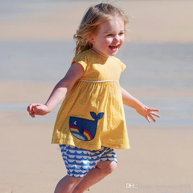 تنورة + T شيرت 2 قطعة 2019 الصيف ملابس الطفل الفتيات مجموعات 2PCS الملابس ملابس خاصة للفتيات 4 5 سنوات الأطفال ملابس الأولاد مجموعات الصيف
