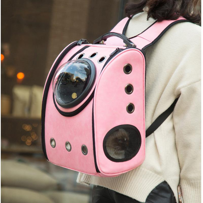The capsule bag carrying pet cat breathable outdoor portable packaging bag dasyure pets puppy travel backpack for dogs carrier D19011201