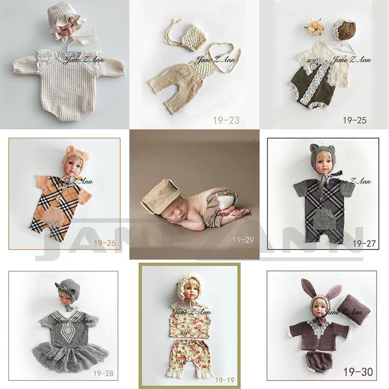 جين Z آن طفل الوليد التصوير الفوتوغرافي الملابس 7-15 أيام الطفل اطلاق النار صور ملابس الاستوديو accessoriesMX190917