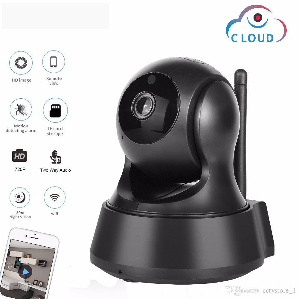 720P سحابة التخزين كاميرا IP لاسلكية واي فاي كاميرا الأمن الرئيسية مراقبة CCTV ليلة كاميرا الشبكة