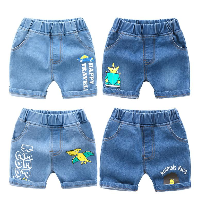 Halloween Elements Seamless Summer Casual Style Adjustable Beach Home Sport Shorts