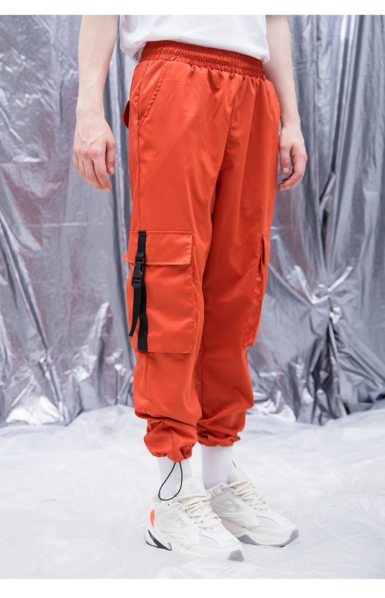 Pantalon Pantalon Pop Chaude Pantalon décontracté Pantalon Sèche Pantalon Hip Pantalons Hommes Cargo Harem Big Streetwear Quick Streetwear Homme Baggy Pantal Taknt