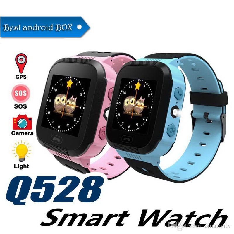 Q528 Smart Watch For Kids Watch With Remote Camera Anti-lost Children Smartwatch LBS Tracker Wrist Watches SOS Call For Android IOS