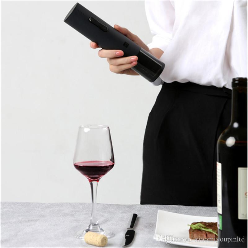 Originale Xiaomi Youpin Huohou Automatic Red Wine Bottle Opener Electric Corkscrew Foil Cutter Strumento di sughero per Smart Home 3007077C6 2021