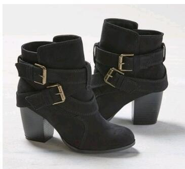 New Winter Women Ankle Snow Boot Leather Fur Wedges Warm Plush Rubber Platform Lace Up Sexy Punk Black Ladies Shoes Botas Mujer