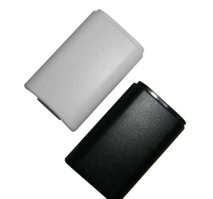 X 박스 360 무선 컨트롤러 DHL 페덱스 EMS 무료 배송 화이트 블랙 배터리 팩 뒷 표지 쉘 쉴드 케이스 실 키트