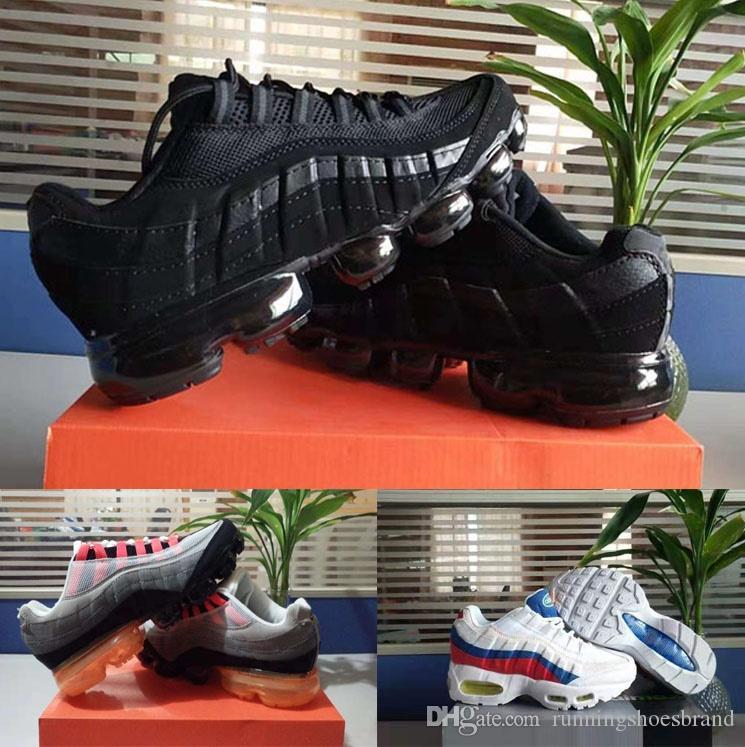 2020 aria elevato Mens Running Shoes moda tn Sneakers Triple Nero Blu Bianco fare jogging a piedi da ginnastica sport per gli uomini des chaussures