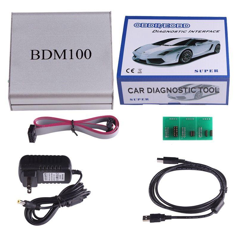 ACT USB BDM 100 V1255 OBD2 ECU Programmer BDM100 Code Reader Remapping ECU Chip Tuning Diagnostic Tool Drop Shipping Wholesale