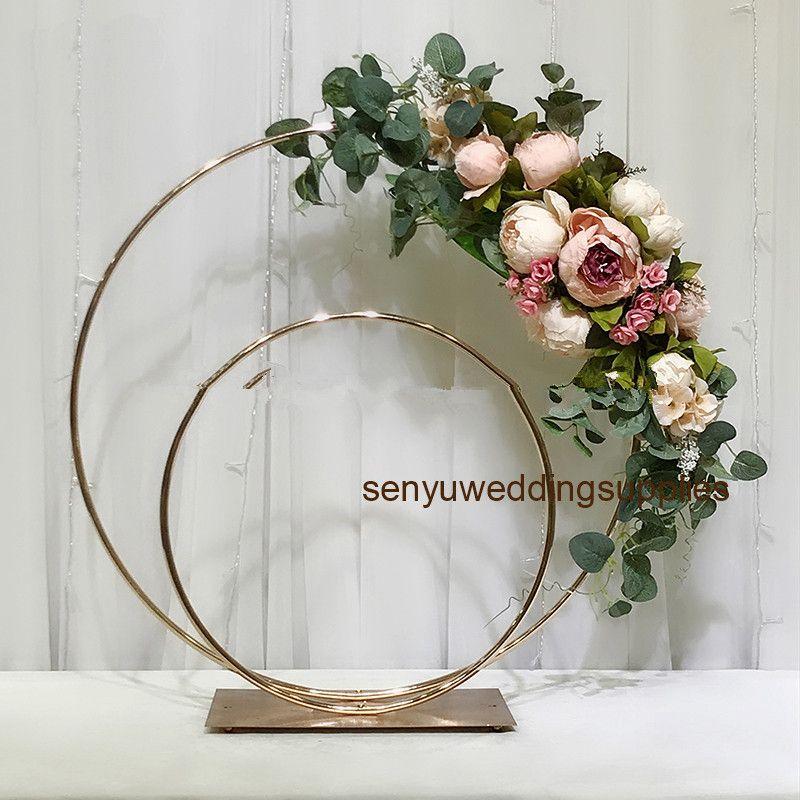 LATEST wedding deco sea lion ball flower stand of window display, event decoration for wedding stage senyu0422