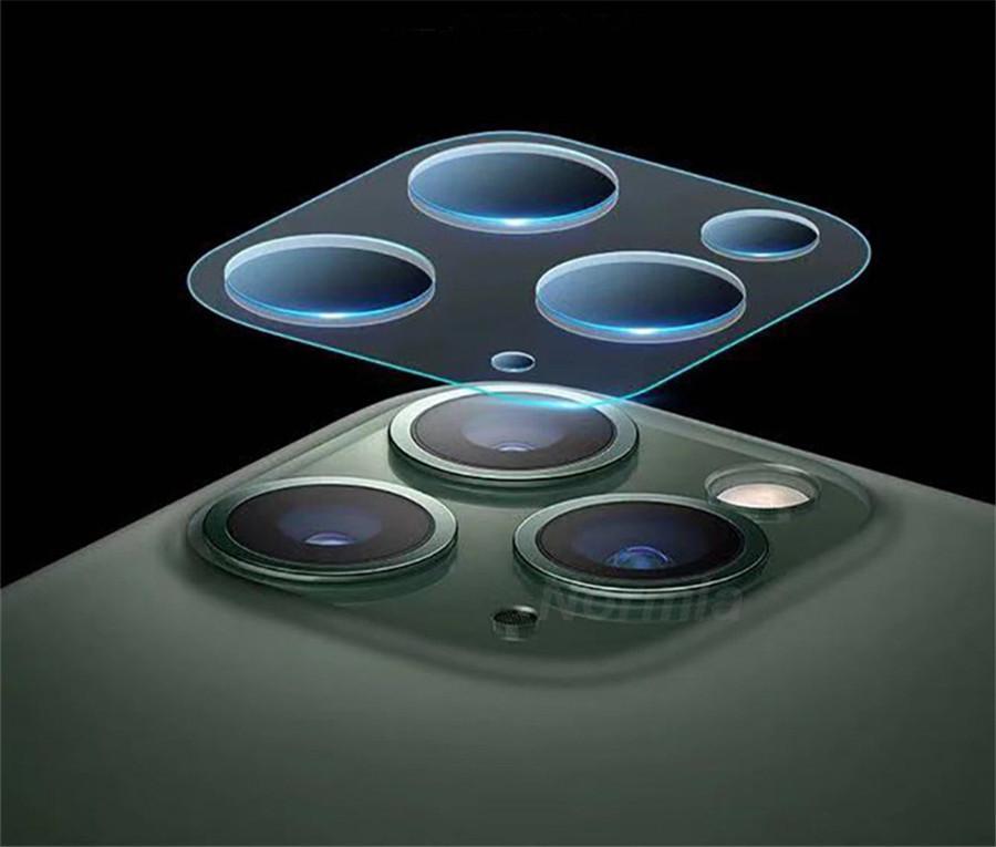 Venta caliente templado lente Pantalla de cristal protector para Apple iPhone 11 11Pro pro Max XR XS 8 7 6plus lente de la cámara de película iphone mayorista