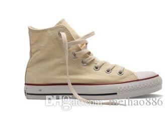 Yüksek Kaliteli Yeni Unisex Düşük En Yüksek En Yetişkin Kadın Erkek yıldızı Tuval Ayakkabı 14 renk Günlük Ayakkabılar Sneaker ayakkabı boyutu 35-44 kadar karıştın
