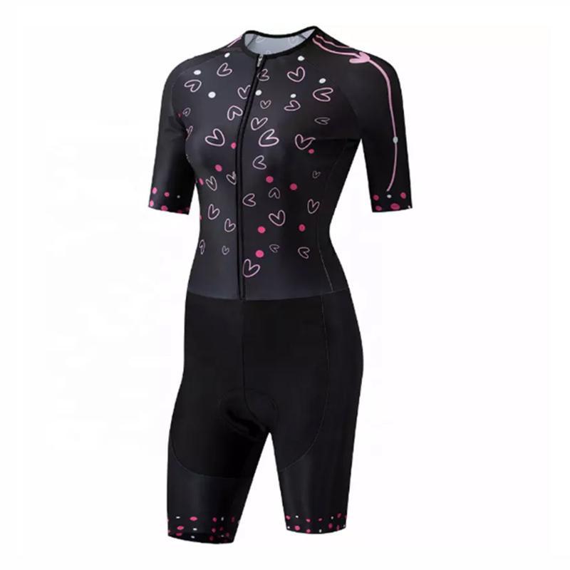 ملابس ركوب الدراجات مخصص الترياتلون البدلة الدراجة Skinsuit النساء ركوب الدراجات سباق البدلة فريق الدراجة أطقم ملابس Ciclismo موهير
