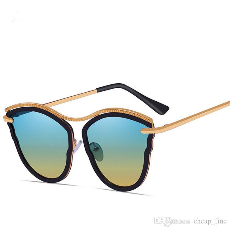 Designer Classic Women Designer Katzenauge Schmetterling Sonnenbrille Weibliche Vintage Lady Sonnenbrille Shades Summer Style Sonnenbrille 001