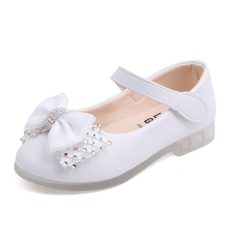 White Shoes For Girls Kids Wedding