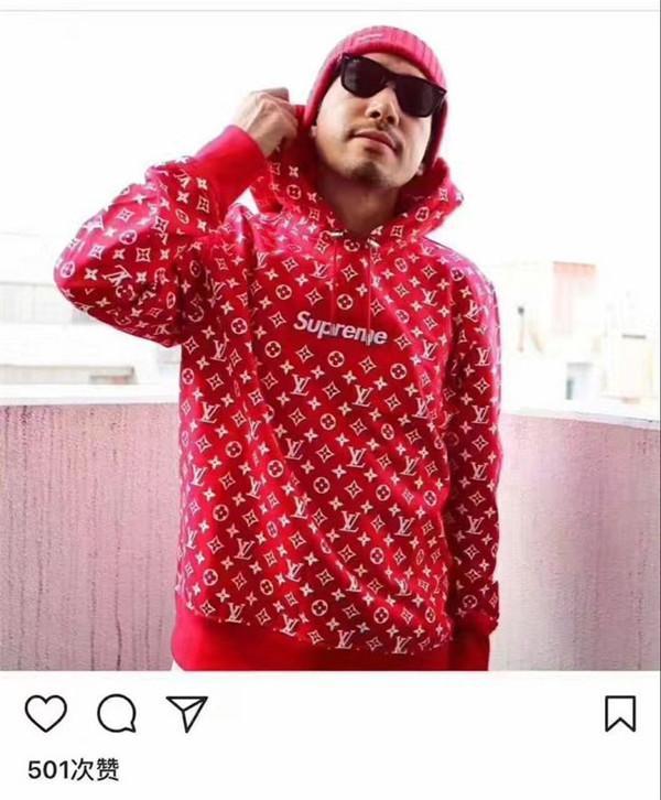 Moda de alta calidad Rojo Negro para hombre con capucha Italia famoso diseñador de la marca suéter tendencia clásica hombre jersey calle hip hop medusa sudadera