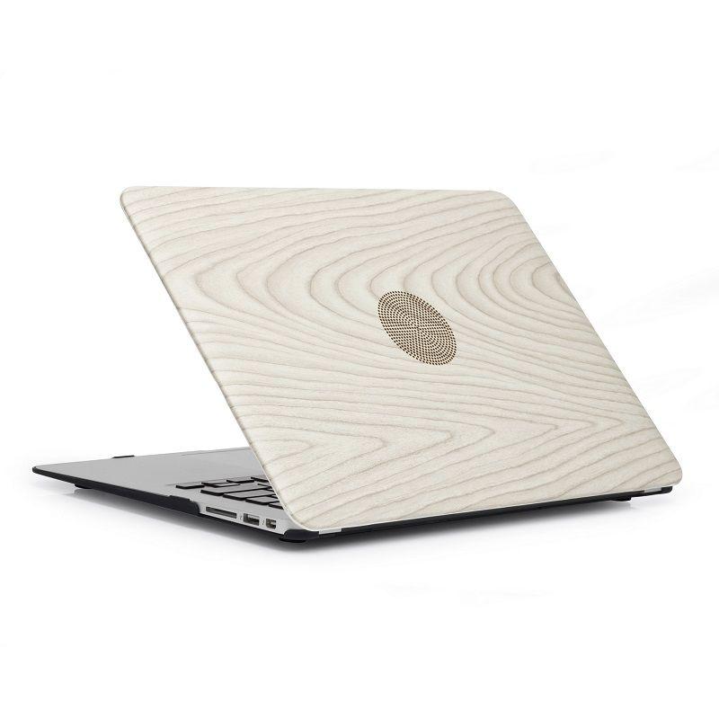 Di cuoio della pelle PU + PC della custodia in plastica di Shell della copertura di protezione per Macbook il pro 11 12 13 15 pollici Laptop gommato glitter Protector