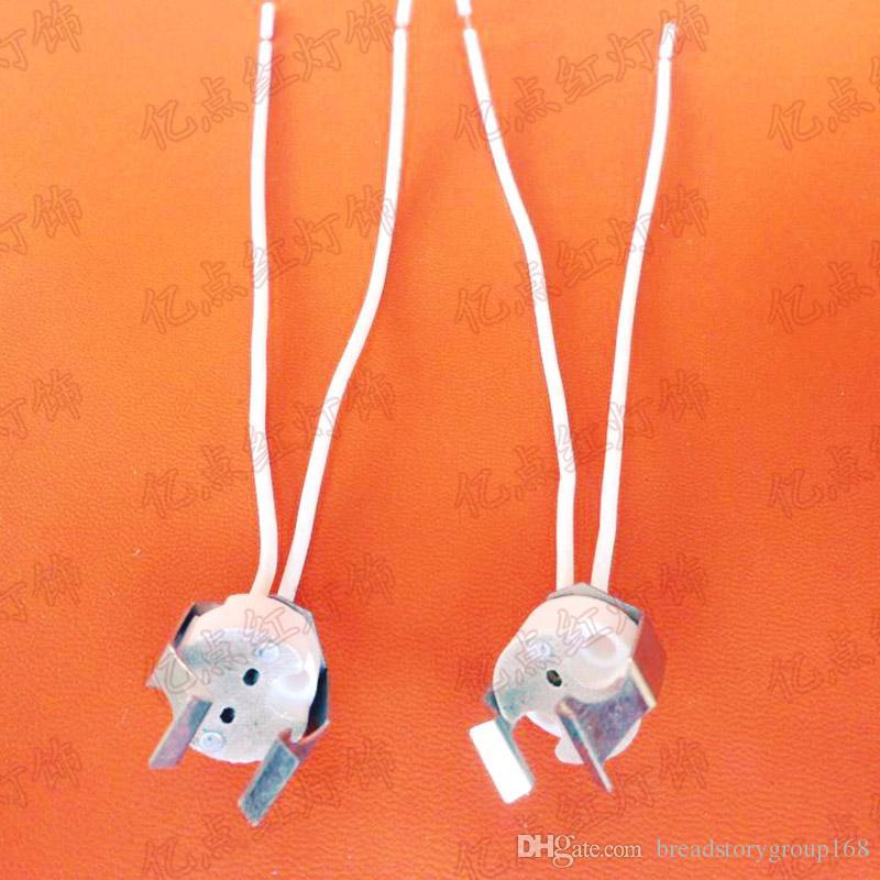 MR16 Lamp Base with Clip G5.3 Lamp Holder with Clip G5.3 MR16 Socket for MR11 MR16 Lamp Cup LED Grille Spotlights