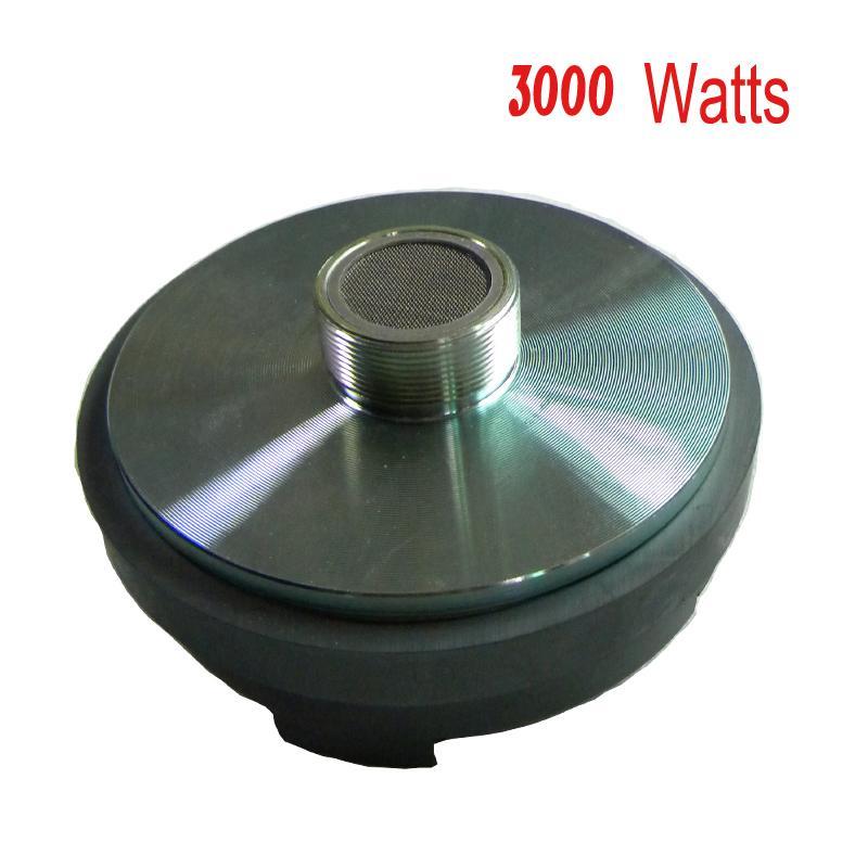 배송 무료 1PC 3,000w 4ohm 고음질 고음 자동차 경적 스피커 드라이버 자동차 오디오 플라스틱 뿔 드라이버 슈퍼 돔 트위터