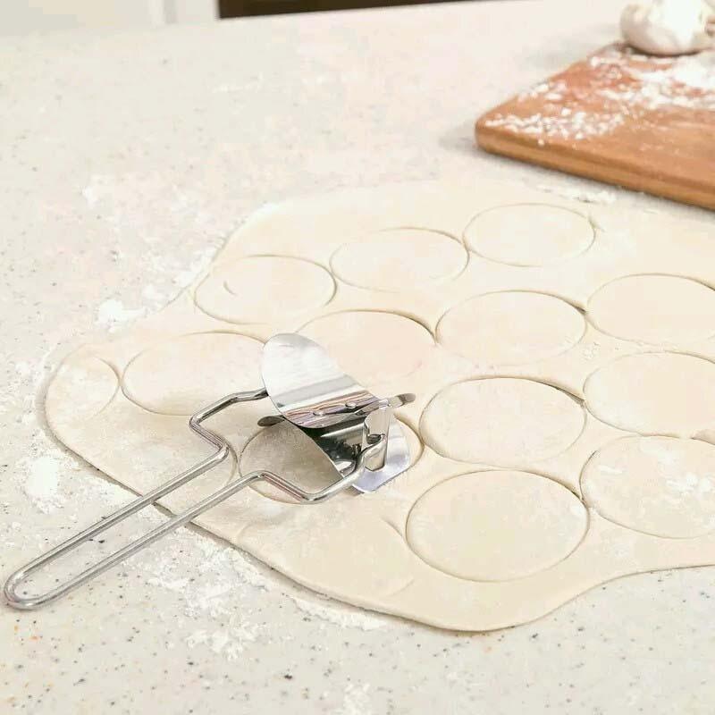 Inossidabile di alta qualità della pasta Press creatore della polpetta Mold Pie ravioli pasticceria Strumenti Circle Dumpling wraper Cutter fa macchina