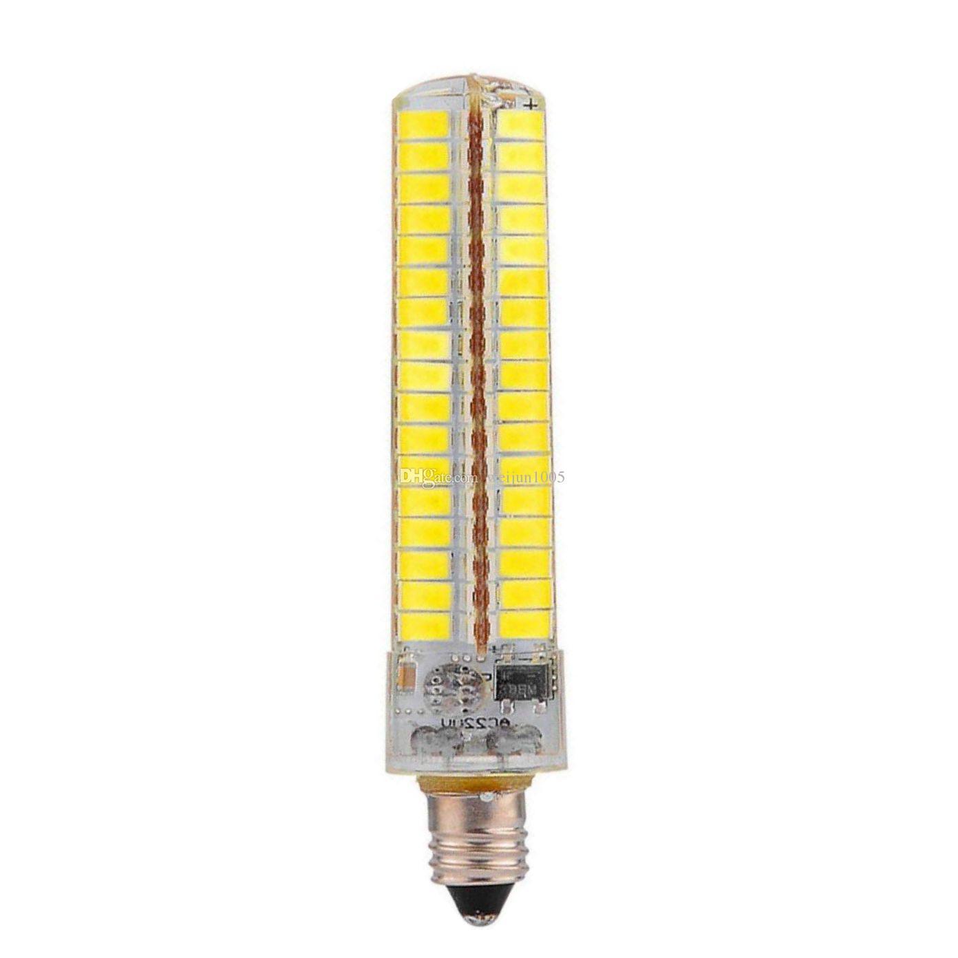 Сид Е11 Е12 Е14 Е17 G9 с цоколем G4 ва 15D энергосберегающая лампа затемнения 5730 СМД 136 LED силиконовые лампа 10W небольшой светильник мозоли