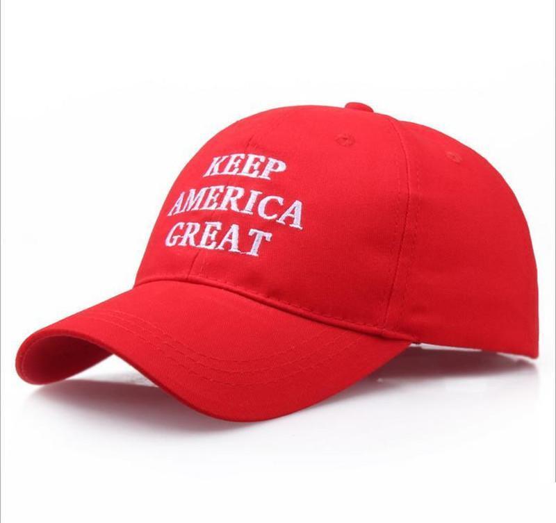 Il nuovo colore rosso Trump 2020 elezione Cappello Keep America Grande Regolare Sport Caps Donald Trump repubblicano Berretto da baseball regalo di Natale US slogan della campagna