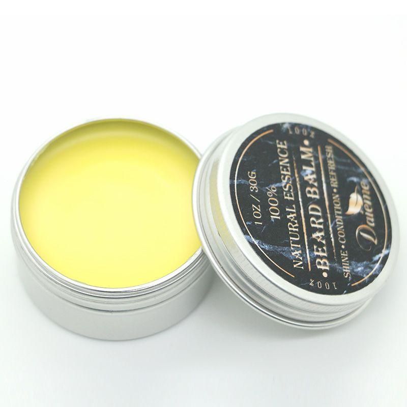 Bart Balm - Rocky Mountain Barber - 100% Natural - Premium Wachs-Mischung mit Zedernholz Scent, Nährstoffreiche Bienenwachs-585321