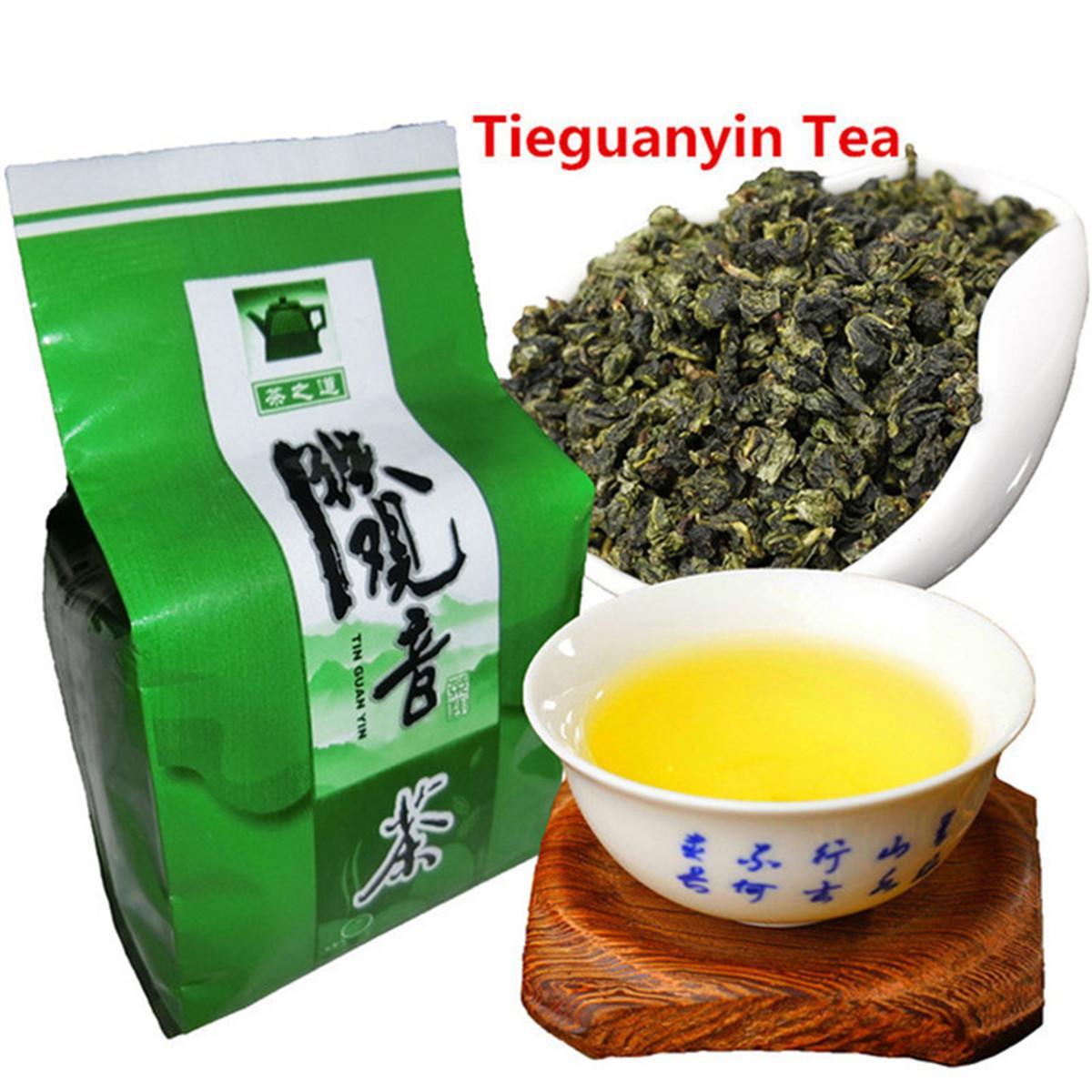 50g Çin Organik Oolong çayı Tieguanyin Oolong Anxi Tieguanyin Yeşil çay yeni İlkbahar çay Yeşil Gıda Sıcak satış