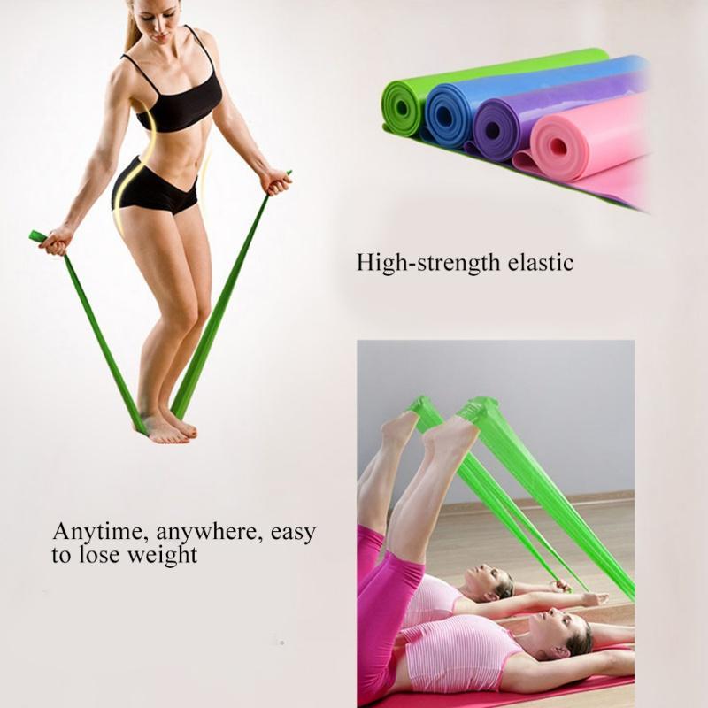 2020 Resistência Yoga bandas de tensão Saúde Elastic Exercício Fitneess Esporte corpo Buliding Latex Alongamento Belt Pull Strap h