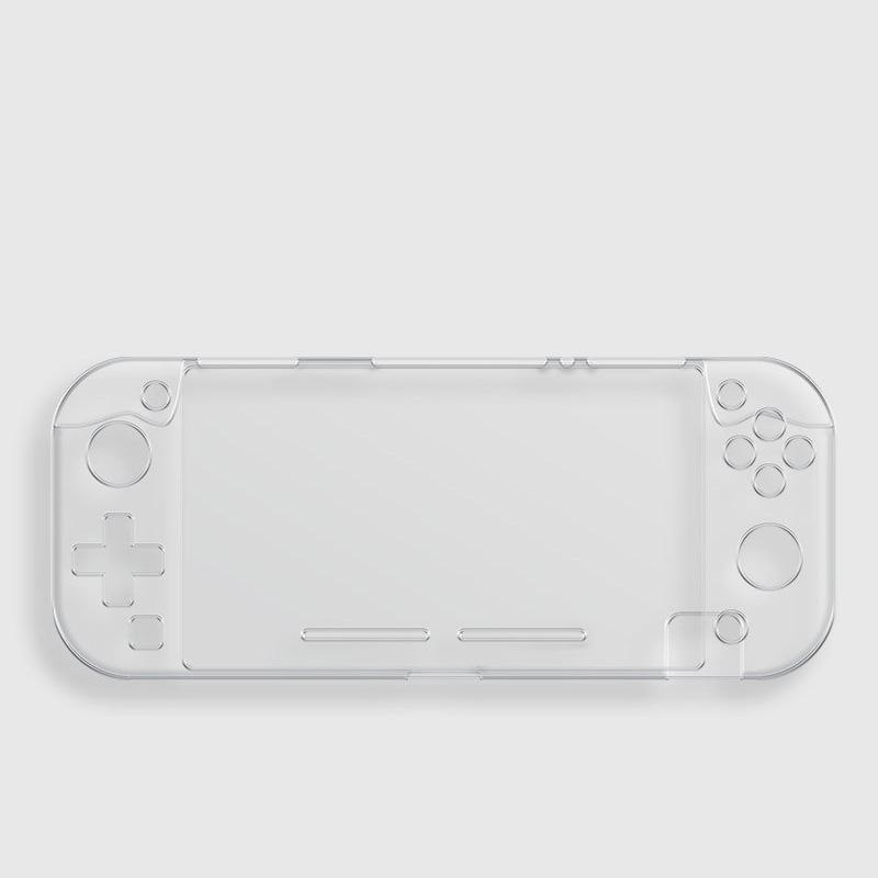 الواقي clear Case For Nintendo Switch Lite Cover Transparent Crystal plastic Anti-scratch Console Handle Gamepad Shell Cases