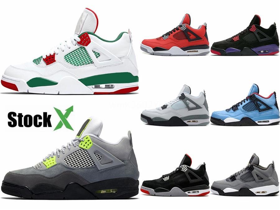2020 Basketball-Schuhe 4S Die Schuhe für Turnschuhe Boys 4 Sportschuhe Größe 28-35 # 349