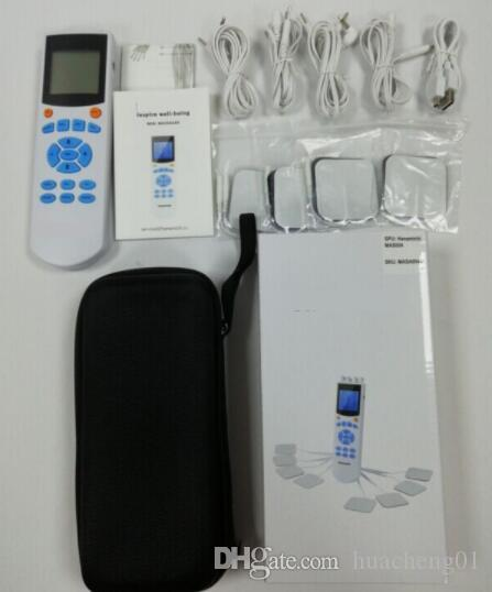 TENS Unit Muscle Stimulator Electronic Pulse Massager Home Use handheld Pain Relief therapy Device