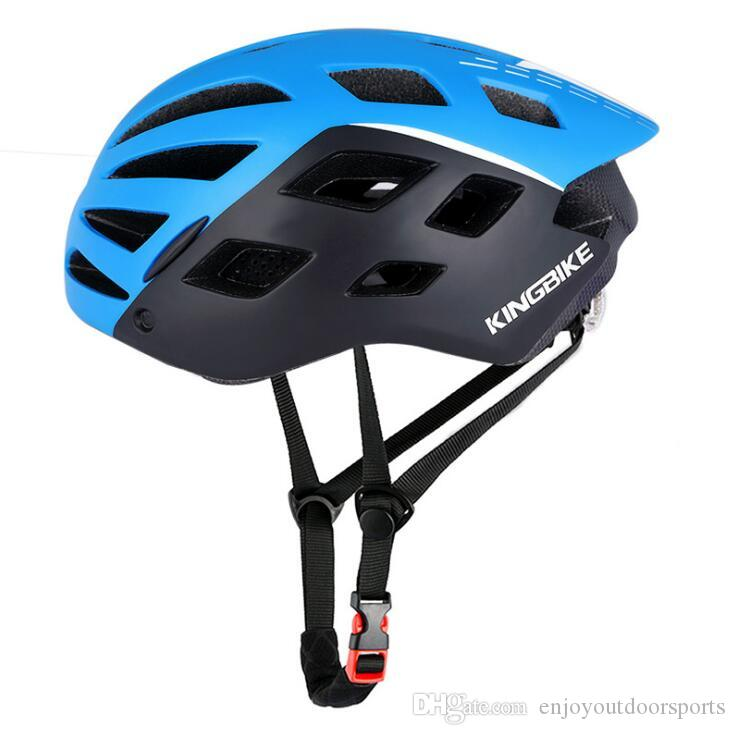 MTB Cycling Helmet For Man Breathable Bicycle Helmets with LED Light Sun Visor Polarized Goggles Road Mountain Bike Helmet Safety Helmets #9