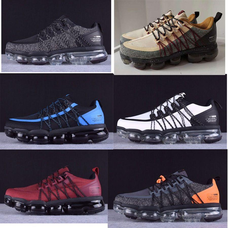 2019 تشغيل فائدة الرجال الاحذية أفضل جودة الأسود أنثراسايت الأبيض تعكس الفضة خصم الأحذية الرياضة أحذية رياضية الحجم 40-45