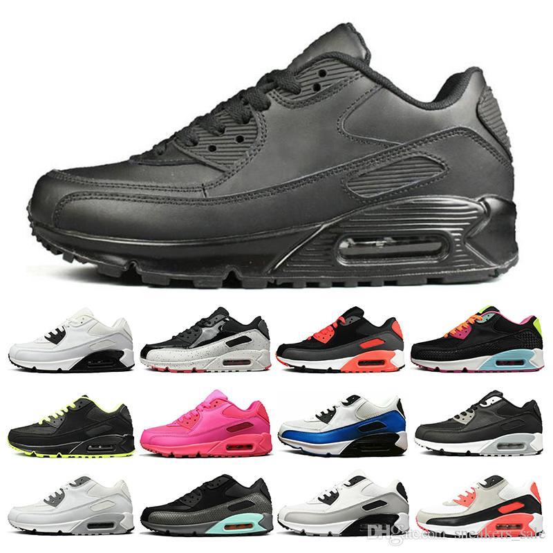 New Designs Schwarz Schwarz Weiß Laufschuhe Herren Nike